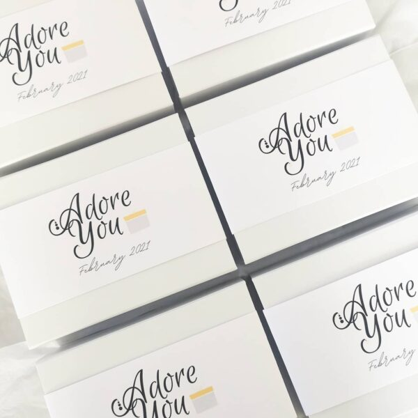 Adore You Boxes AccentsUK