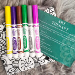 AccentsUK Adore You Box FEB TO APR 2021 art therapy kit