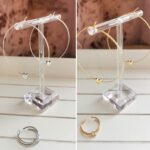 AccentsUK Adore You Box FEB TO APR 2021 both hoops and rings together