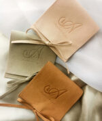AccentsUK Vegan Suede Jewellery Pouches