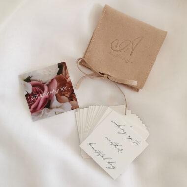 AccentsUK Adore You Box 2021 Daily Gratitude Cards