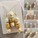 AccentsUK Adore You Box 2021 AccentsUK Handmade Earrings and Necklace Set